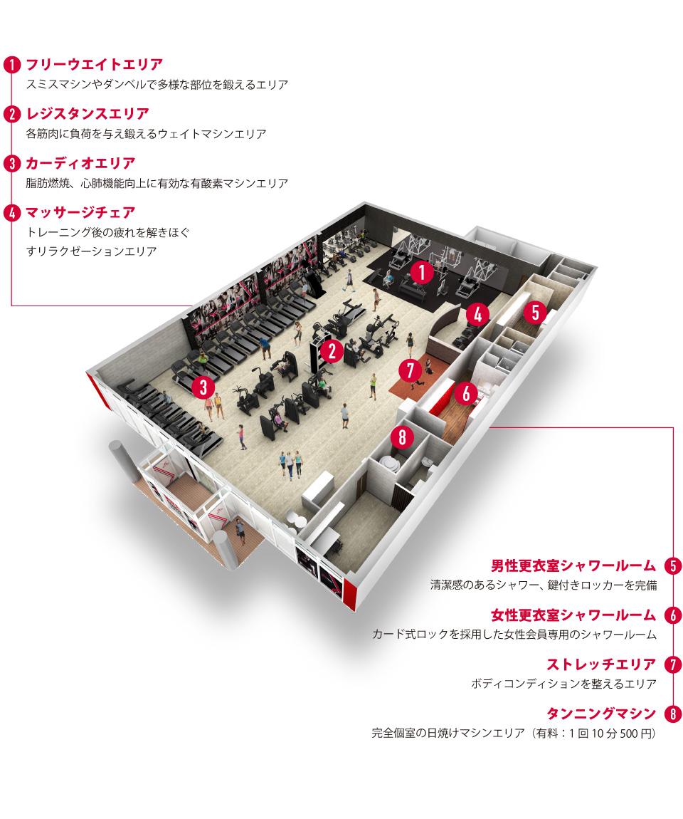 ミラフィットネス 焼津東名インター店の画像